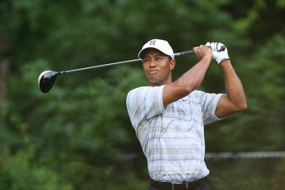 a biography of eldrick tiger woods the golf player