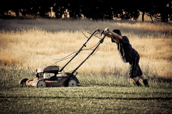 mowing-lawn-value-of-work