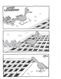 Lousy Leadership Comic - Tim