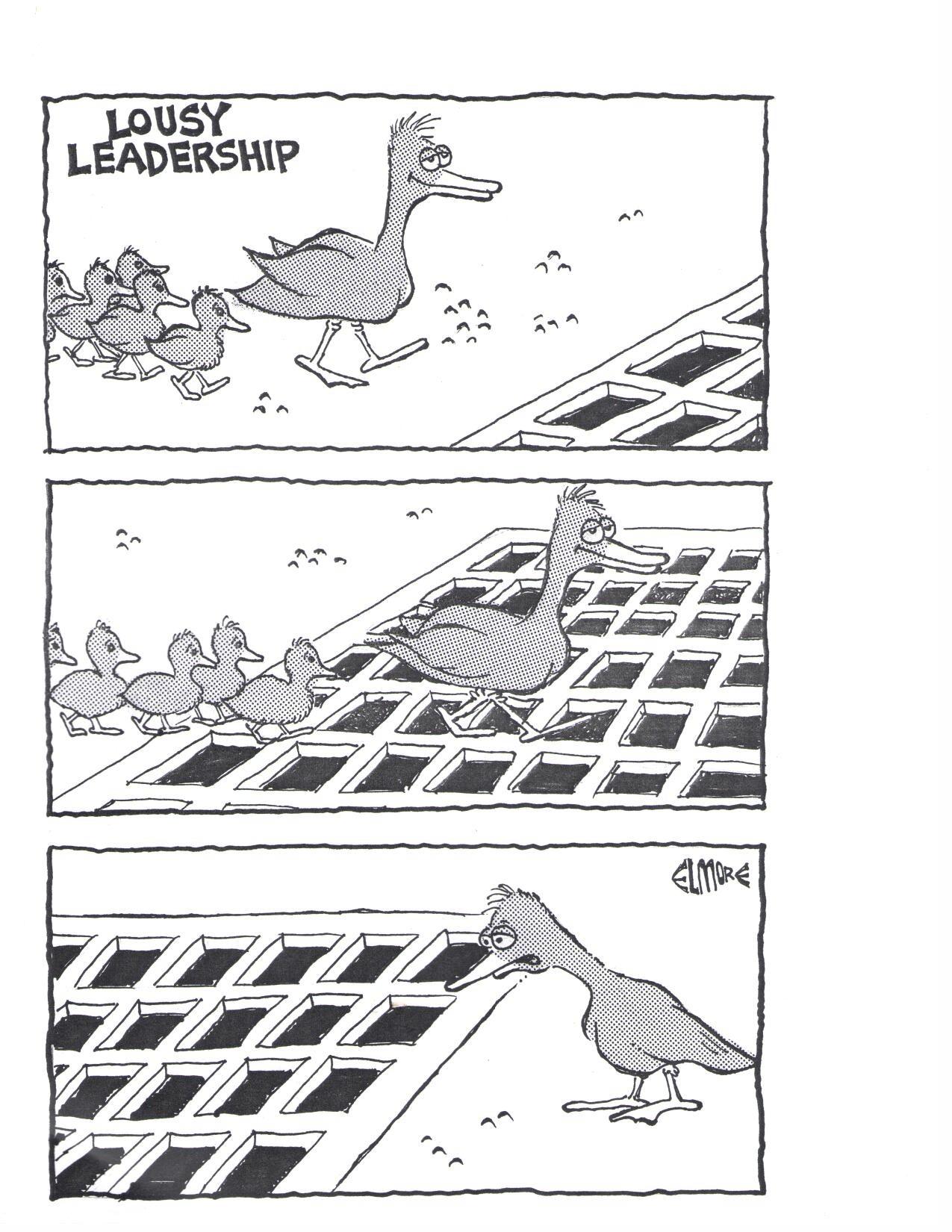 Výsledek obrázku pro leadership comic