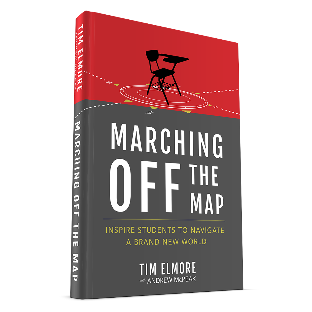 marching off the map  inspire students to navigate a brand