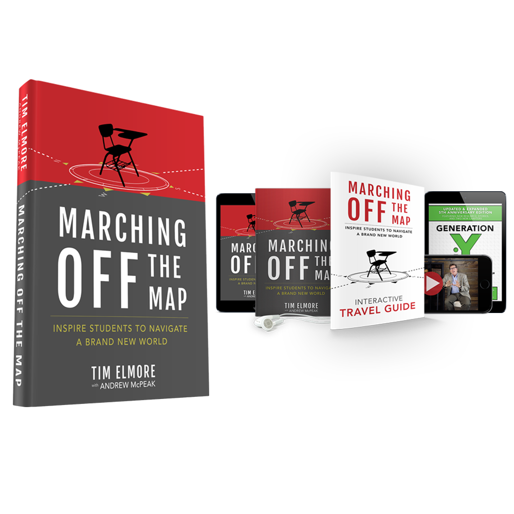 marching off the map - preorder
