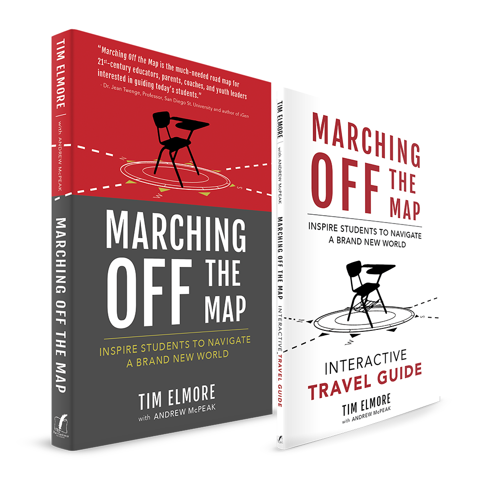 Marching Off the Map: Inspire Students to Navigate a nd New World on books sale, white sale, green sale,